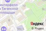Схема проезда до компании RCS в Москве