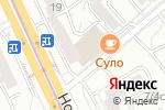 Схема проезда до компании De`natella в Москве