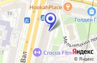 Схема проезда до компании АКБ АЛЬФА-БАНК в Москве