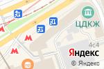 Схема проезда до компании Sent Gallen в Москве