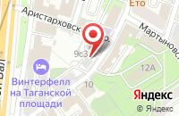 Схема проезда до компании Стройградмонтаж в Москве