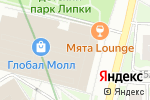Схема проезда до компании City & Malls Property & Facility Management в Москве