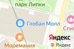 Схема проезда до компании Moda!mix в Москве