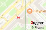 Схема проезда до компании Инвест Ломбард в Москве