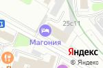 Схема проезда до компании Юнион-Медиа-Сервис в Москве