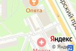 Схема проезда до компании Цветы & букеты №1 в Москве