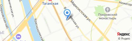 Екатерина Курепина на карте Москвы