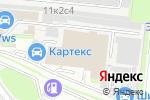 Схема проезда до компании ЛИТЭКС в Москве