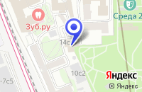 Схема проезда до компании  РАВ ЗООТОВАРЫ в Москве