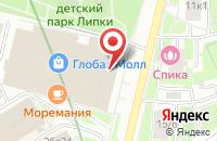 Схема проезда до компании Бизнес для Бизнеса в Москве