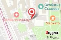Схема проезда до компании Флавия в Москве