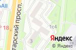 Схема проезда до компании Колыбель здоровья в Москве