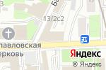 Схема проезда до компании Салон красоты на Басманной в Москве