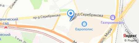 Монолит недвижимость на карте Москвы