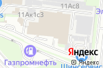 Схема проезда до компании Фольксваген Запчасть в Москве