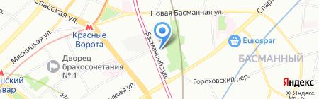 Фабрика домашней еды на карте Москвы