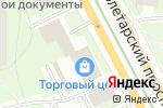 Схема проезда до компании DUCKSTAR`S в Москве