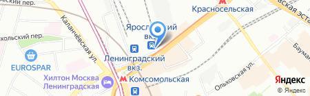 Пит стоп хаус на карте Москвы