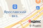 Схема проезда до компании Железнодорожник в Москве