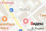 Схема проезда до компании Айтрон в Москве