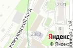 Схема проезда до компании Flexisystems в Москве