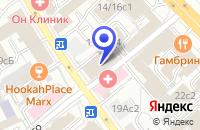 Схема проезда до компании ПРЕДСТАВИТЕЛЬСТВО В МОСКВЕ ПТФ GARNIER S.A. в Москве