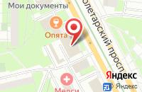 Схема проезда до компании Легион в Москве