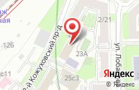 Схема проезда до компании Мерамед в Москве