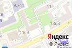 Схема проезда до компании Терем-Дом в Москве