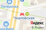 Схема проезда до компании Курская в Москве
