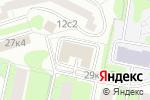 Схема проезда до компании Ногтевая студия в Москве