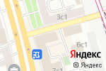 Схема проезда до компании Профессиональные решения в Москве