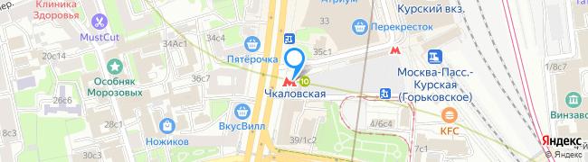метро Чкаловская