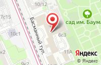 Схема проезда до компании Россвинопром в Москве