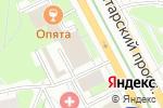 Схема проезда до компании Ювелирная мастерская на Пролетарском проспекте в Москве