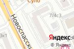 Схема проезда до компании Эстети в Москве