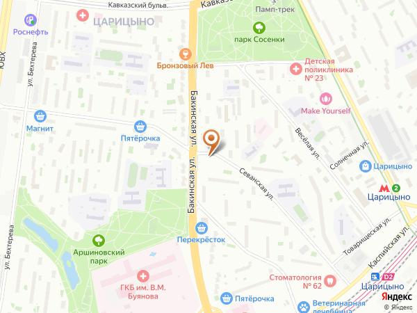 Остановка «Севанская ул.», Севанская улица (7658) (Москва)
