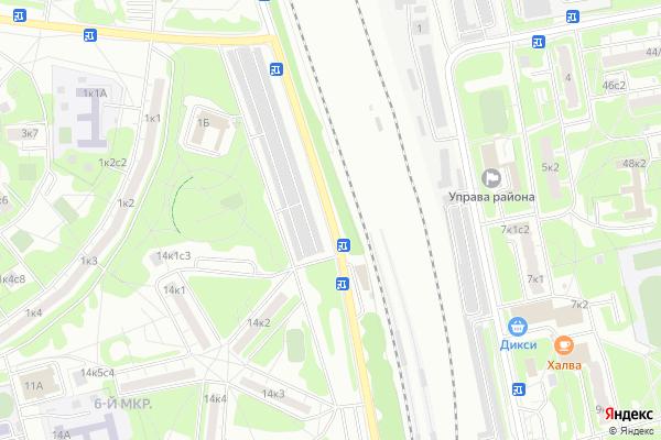 Ремонт телевизоров Булатниковский проезд на яндекс карте