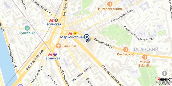 Табачная лавка на карте Москве