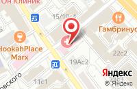 Схема проезда до компании Наше Время в Москве