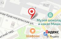 Схема проезда до компании Промтэкс Ресурс в Москве