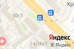 Схема проезда до компании Вебикум в Москве