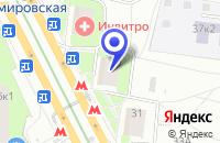 Схема проезда до компании МЕБЕЛЬНЫЙ МАГАЗИН INTERDIVAN в Москве