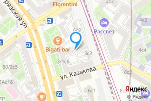 Снять однокомнатную квартиру в Москве улица Казакова, 3с4