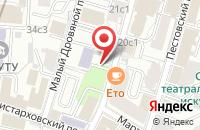 Схема проезда до компании ДСК-Строй в Москве