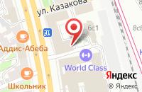 Схема проезда до компании Бизнес-Арсенал в Москве