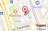 Схема проезда до компании Информационно-Выставочный Центр Сопровождения Реконструкции и Строительства Уникальных Объектов в Москве