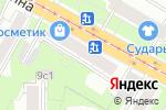 Схема проезда до компании Надежность-11 в Москве