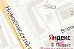 Схема проезда до компании Fresh Stretching в Москве