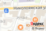 Схема проезда до компании Инфосекьюрити Сервис в Москве